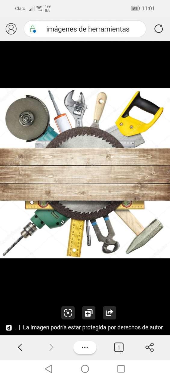 Se asen trabajos de construcción electricidad tabla lleso pintura y albañilería