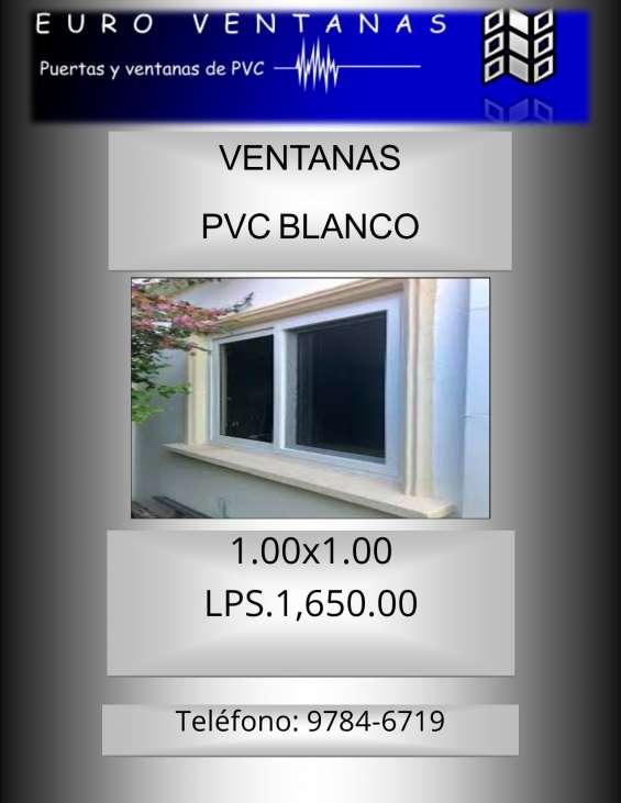 Ventanas de pvc de 1.00x1.00 1,700 cada una cel. 97846719